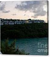 Resort By The Sea Canvas Print