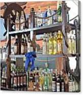 Resort Cantina Bar Wine-liquor-beer Canvas Print