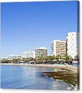 Resort City Of Marbella In Spain Canvas Print