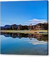 Resort Reflections 2 Canvas Print