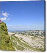 Rest In Beautiful Mountain Landscape Canvas Print