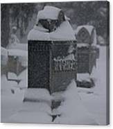 Rest In Winter Peace Canvas Print