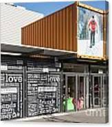 Restart Container Stores Canvas Print