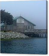 Restaurant With A Foggy View Canvas Print