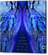 Psalm 91 Wings Canvas Print