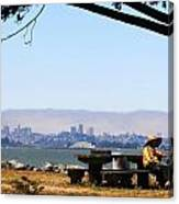 Resting On The Emeryville Penninsula Canvas Print