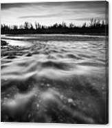 Restless River II Canvas Print