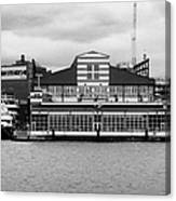 restored Chelsea Pier 60 20th century passenger ship terminal hudson new york city Canvas Print
