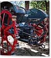 Restored Tractor Canvas Print