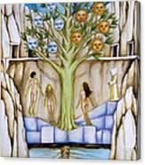 Resurrection Island Canvas Print