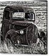 Retired Farm Truck Canvas Print