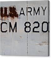 Retired Lcm-8 Canvas Print