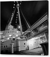Retired Queen Mary Upper Deck Canvas Print
