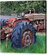 Retired Tractor Canvas Print