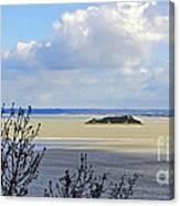 Retreating Tide Canvas Print
