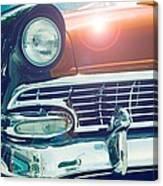 Retro Car Canvas Print