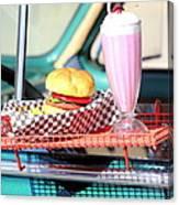 Retro Diner. Canvas Print