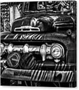 Retro Fire Engine Canvas Print