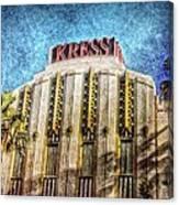 Retro Kress Canvas Print