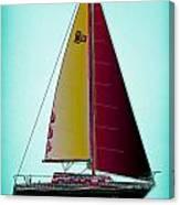 Retro Newport3 Canvas Print