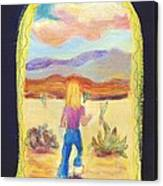 Returning To Arizona Canvas Print
