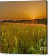 Retzer Sunset Canvas Print