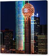 Reunion Tower Canvas Print