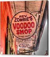Rev. Zombie's Canvas Print