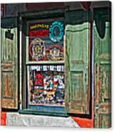 Rev. Zombie's Voodoo Shop Canvas Print