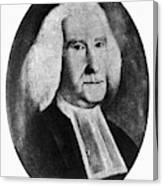 Reverend William Smith Canvas Print