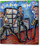 Revolution Rock The Clash Canvas Print