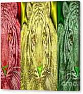 Revolutionary Tigre Ital Canvas Print