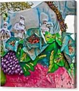 Rex Mardi Gras Parade II Canvas Print