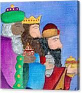 Reyes Magos Canvas Print