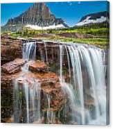 Reynolds Mountain Falls Canvas Print