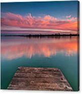 Rgb Sunset Canvas Print