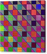 Rgby Squares II Canvas Print