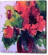 Rhapsody Of Flowers Canvas Print