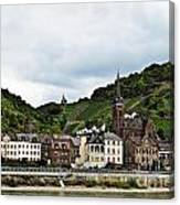 Rhine River View Canvas Print