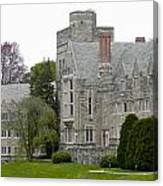 Rhoads Hall Bryn Mawr College Canvas Print