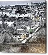 Rhymney Valley Winter 2 Canvas Print