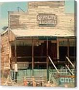 Rhyolite Mercantile Canvas Print