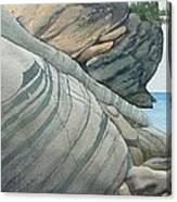 Rhythms In Rock Canvas Print