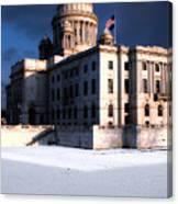 Ri State Capitol 1 Canvas Print