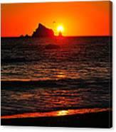 Rialto Beach Sunset Canvas Print