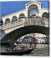 Rialto Bridge Canvas Print