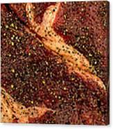 Rib Eye Candy Canvas Print