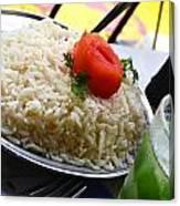 Rice And Caipirhina Canvas Print