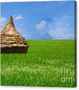 Rice Farming Canvas Print