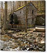 Rice Grist Mill And Threshing Barn  Canvas Print